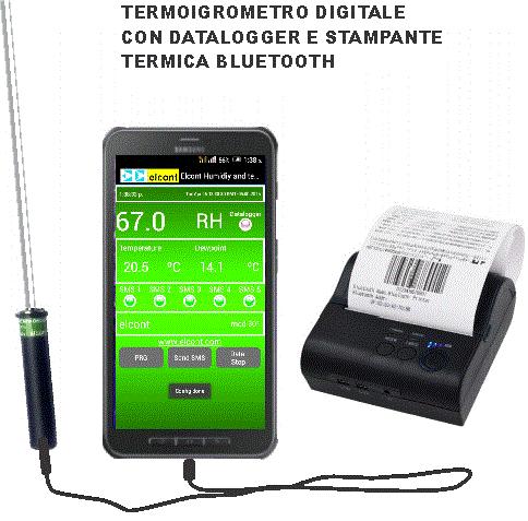 termoigrometro digitale datalogger