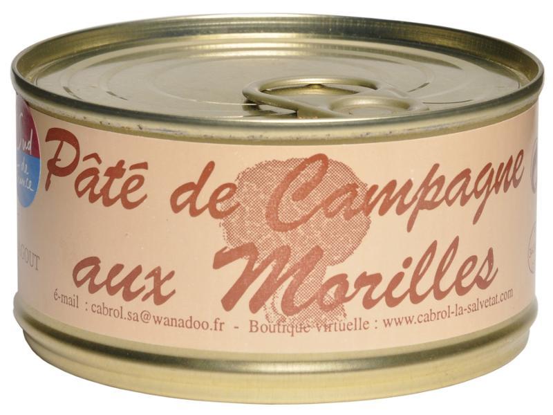 Pâté de Campagne aux Morilles (conserve) - Epicerie salée