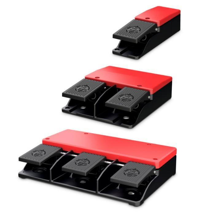 Interruttori a pedale di comando - F series - Interruttori a pedale di comando - F series