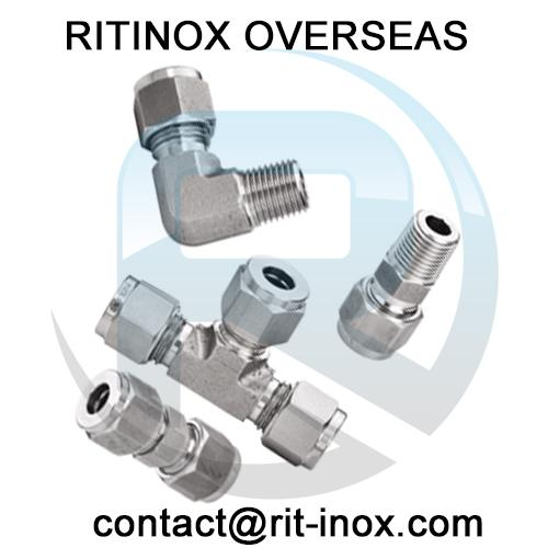 Stainless Steel 347H Compression Tube Fittings -