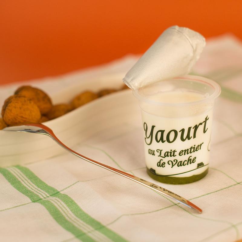 yaourt sucré sur lit de cactus-citron vert 125G - Produits laitiers