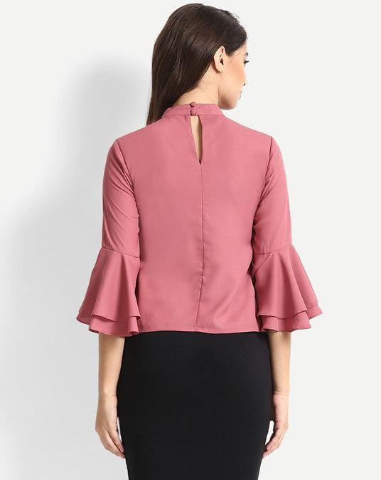 Ready To Wear Tops - Feature Ruffle & Frills - Manufacturer & Exporter | Casual Blouses Suppliers, India