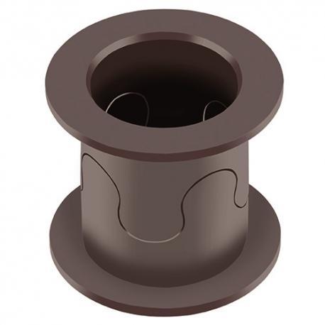 FLASH-CLICK® - Bague à Double Collerette en Polymères Thermoplastiques