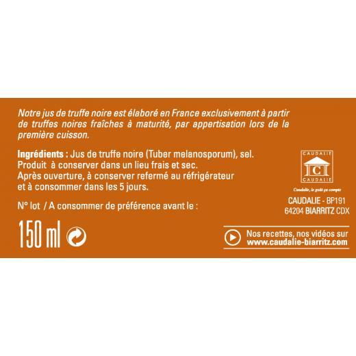 Producteur Artisan - Le Jus Truffe Noire -150ml - Jus truffe noire bocal de 150ml - Fabrication française