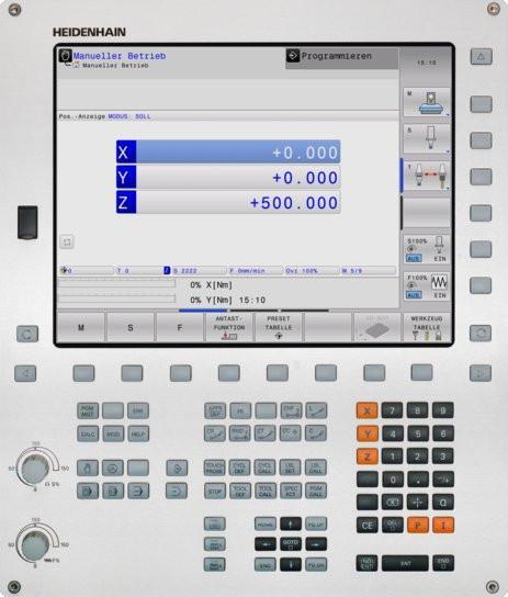 TNC 320 数控系统 - TNC 320 系列 海德汉数控系统