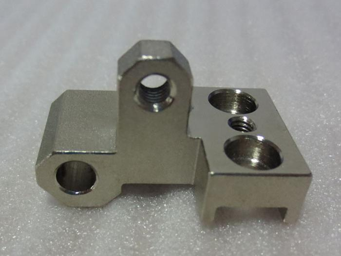 Stainless steel with nickel parts -