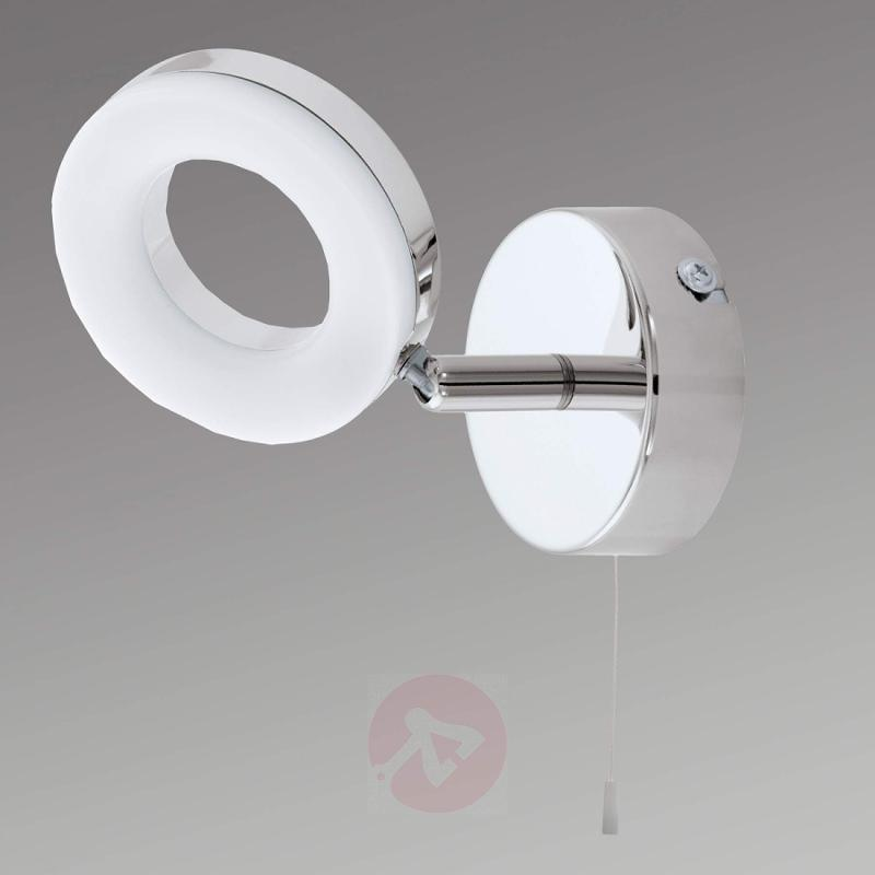 Practical Gonaro LED wall lamp, pull cord - indoor-lighting