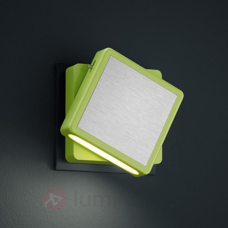 Veilleuse LED verte Fox - Lampes sur prise et veilleuses