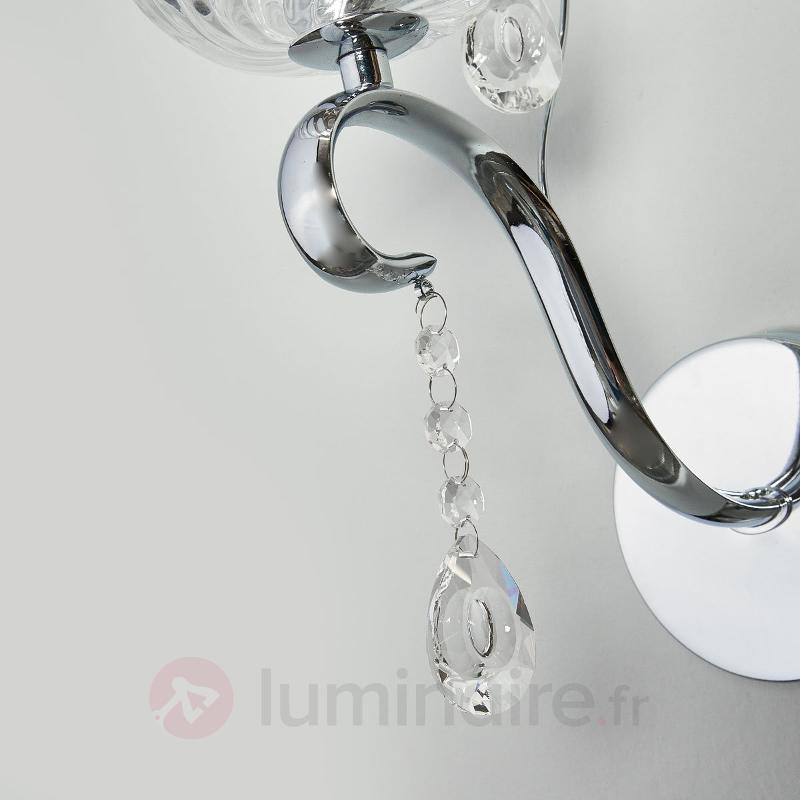 Applique Alessa - Appliques chromées/nickel/inox