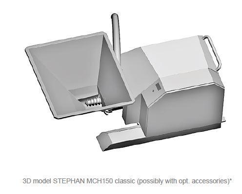 Affineur émulsionneur homogénéisateur broyeur - STEPHAN Microcut MCH150