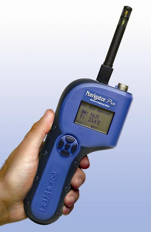 Building materials moisture meter - Restoration - NavigatorPro