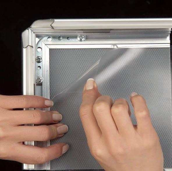 Click Frames - Cadre Click pour vitre avec vis de bloquage
