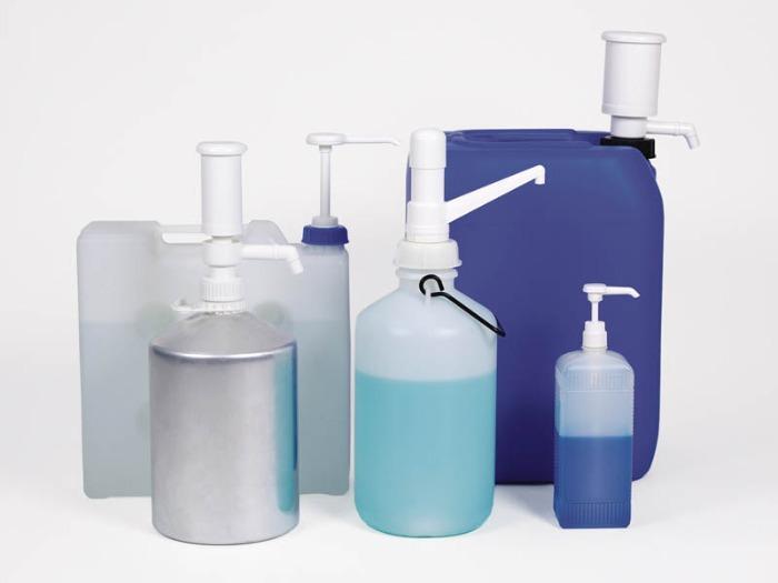 Pompe dosage Dosi-Pump 4 ml - Pompe manuelle, pompe distributrice, adaptée aux fûts, bidons, chariots ou boute