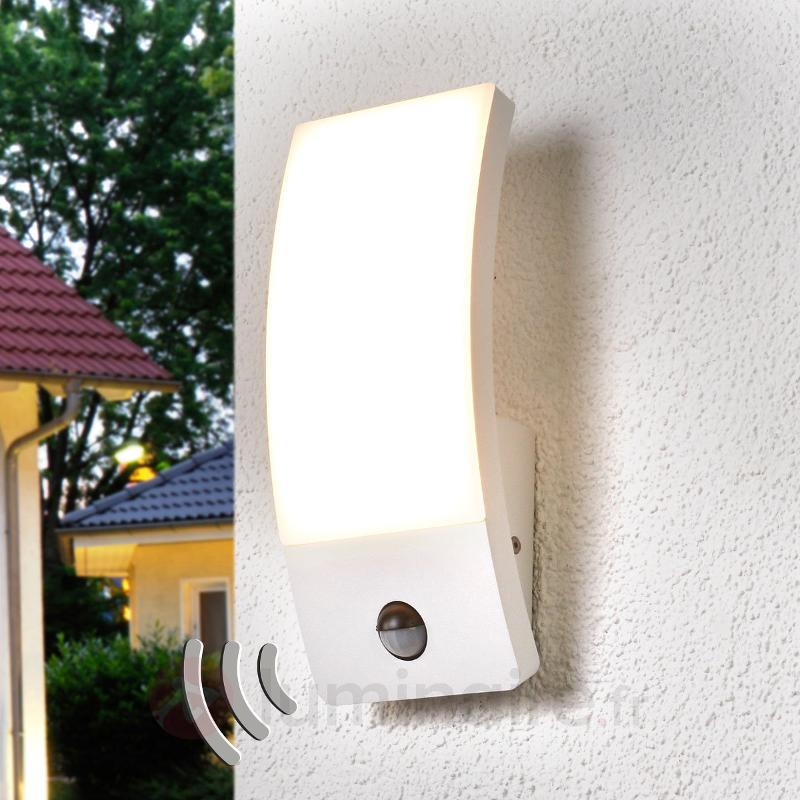Applique d'extérieur LED détecteur de mvment Siara - Appliques d'extérieur avec détecteur