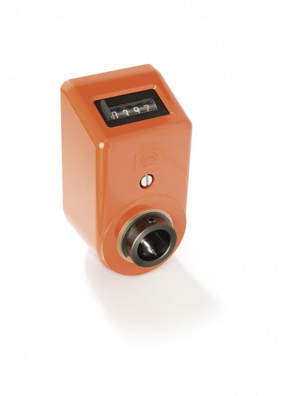 数字式位置指示器 DA08 - 数字式位置指示器 DA08, 在金属外壳中