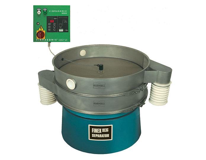Ultrasonic Separators - Vibratory ultrasonic separators for screening difficult powders