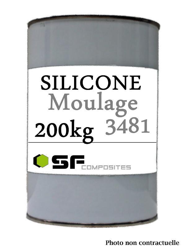 SILICONE 3481 EN 200KG - Produits pour le moulage Silicones