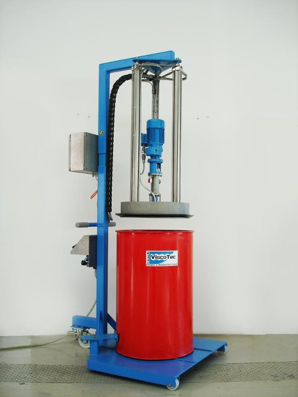 Fassentleerung ViscoMT-L / Behälterentleerung - optimale Restentleerung