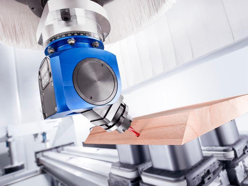 Schwenkkopf FLEX D (manuell verstellbar) - CNC Aggregat / Schwenkkopf mit flexibel einstellbarem Winkel