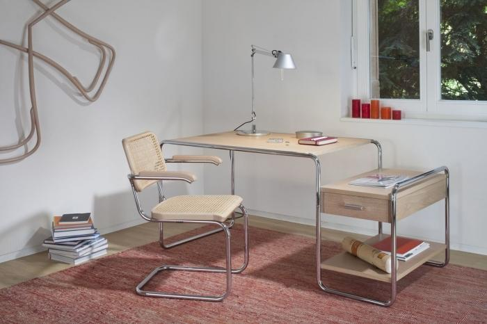 Home office - Bureaux Thonet, S285, Marcel Breuer