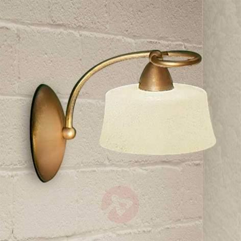 Delicate wall light Alessio left - design-hotel-lighting