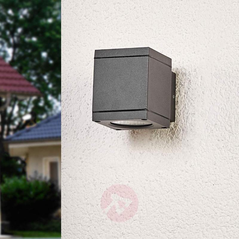 Single-light LED wall light Nuria for outdoors - Outdoor Wall Lights