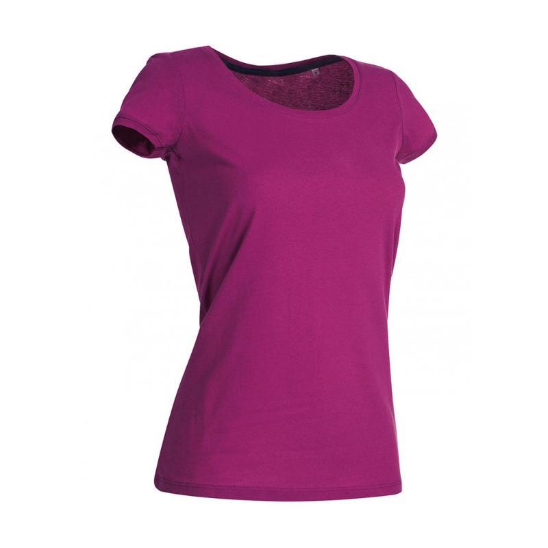Tee-shirt ras de cou Megan - Manches courtes