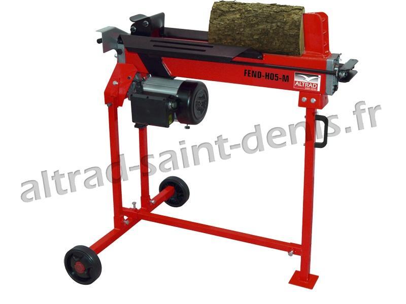 Fendeuse horizontale FEND-H05-MCH électrique - Fendeuse à bois