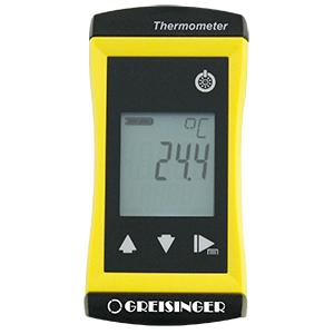 Units with switchable sensors - Precise universal thermometer G 1700