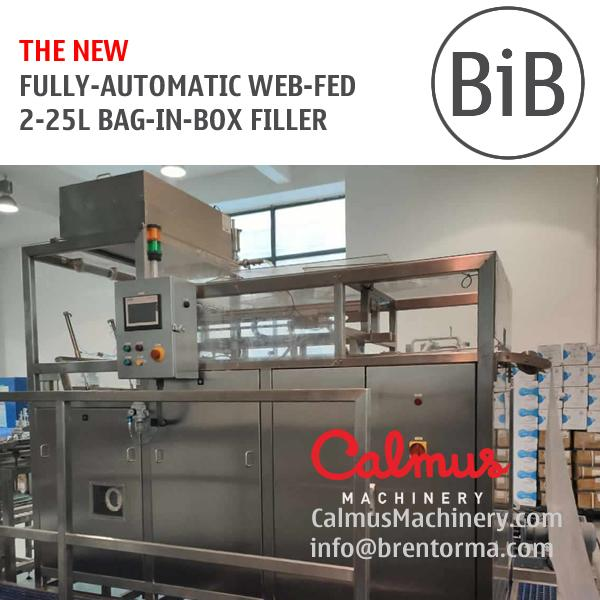 NEW Fully-automatic 2-25 Litre Bag in Box Filling Machine - BiB Filler Equipment for 2-25 Bag-in-Box with Drinking Water, Edible Oil, Syrup