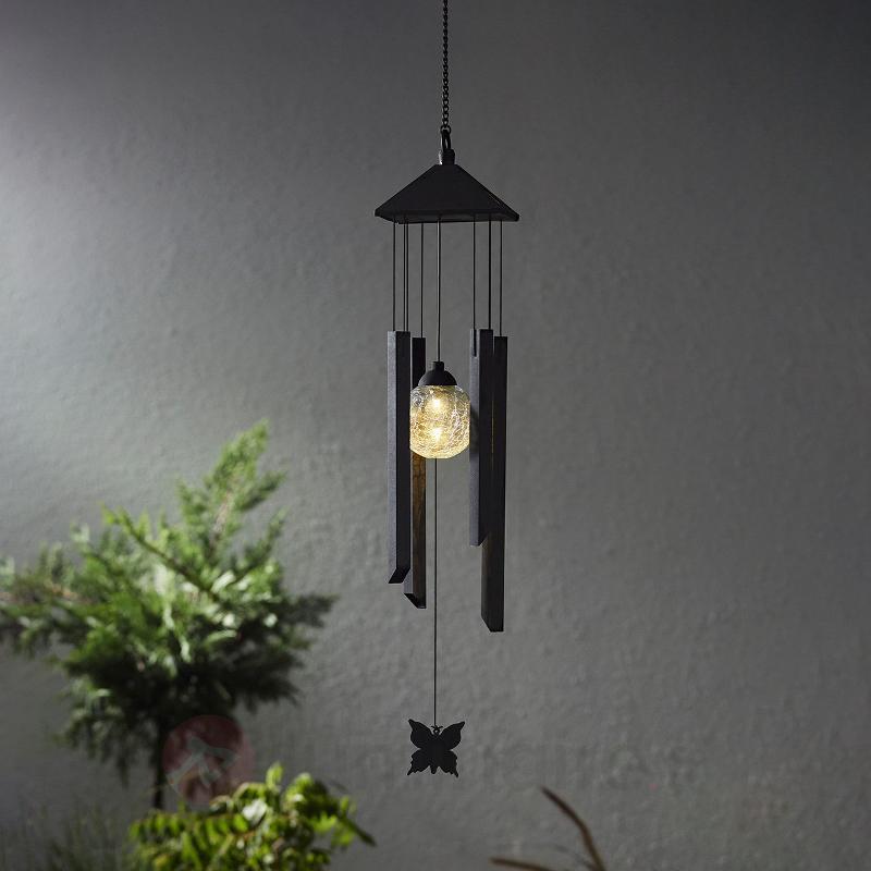 Carillon à lampe solaire LED Windy - Lampes décoratives d'extérieur
