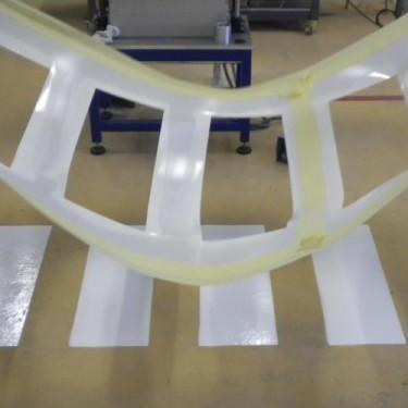Pochoir industriel pour sol - Pochoir Polycarbonate 90°