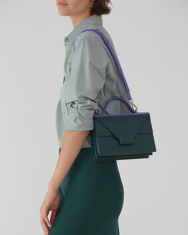 А5-size Briefcase Verbena - NATURELISM