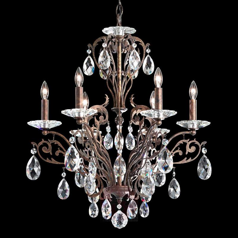 Impressive chandelier Filigrae in bronze - Pendant Lighting