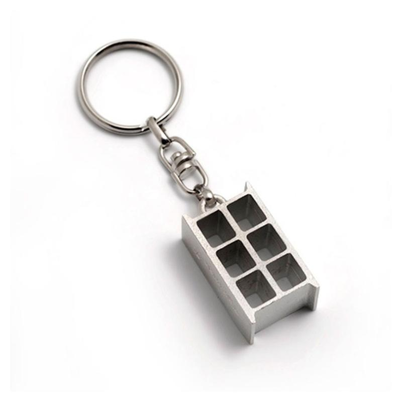 Porte-clés 3D - Porte-clés métal