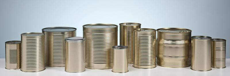 FOOD METAL - CYLINDRICAL CANS