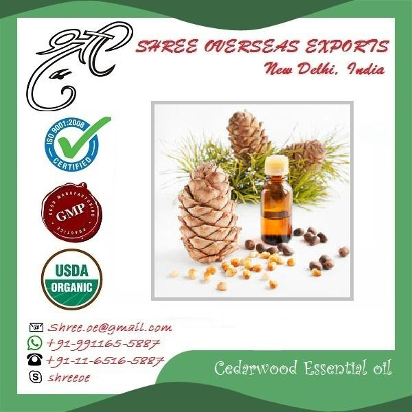 Organic Cedarwood Oil Rectified - USDA Organic