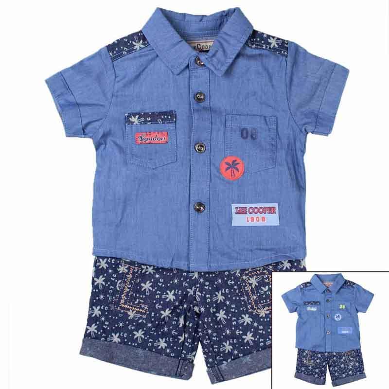 Distributor baby set of clothes licenced Lee Cooper - Summer Set