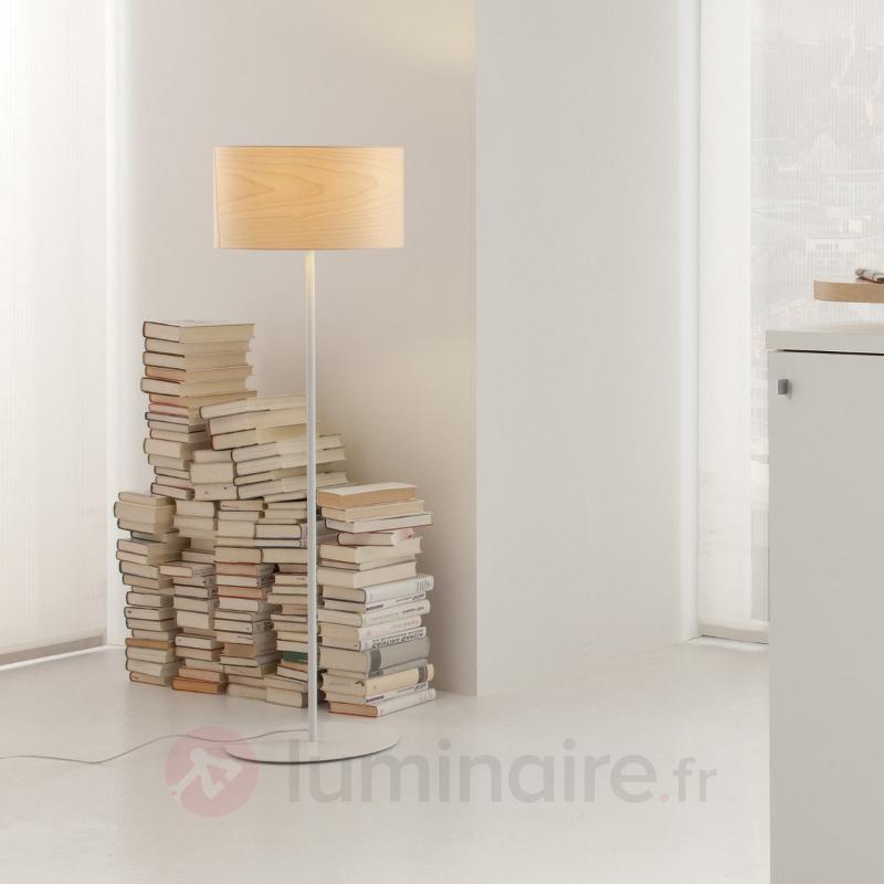 Funk - lampadaire en placage érable - Lampadaires en bois