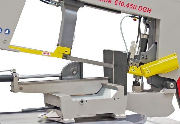 Scie à ruban semi-automatique - WORKLINE 350 DGH