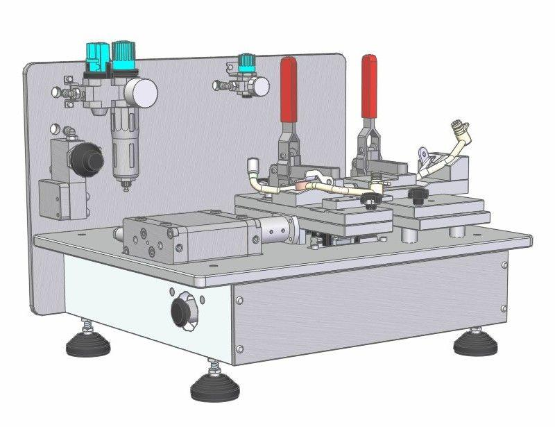 Assembly fixture - Assembly and testing systems
