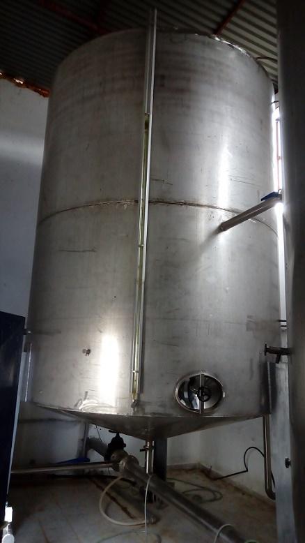 Réservoirs en acier inoxydable