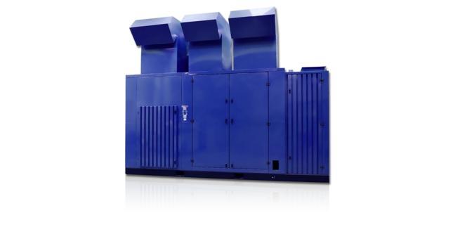 Compresseurs à vis - Unités de compresseur à vis à étages multiples, exempt d'huile