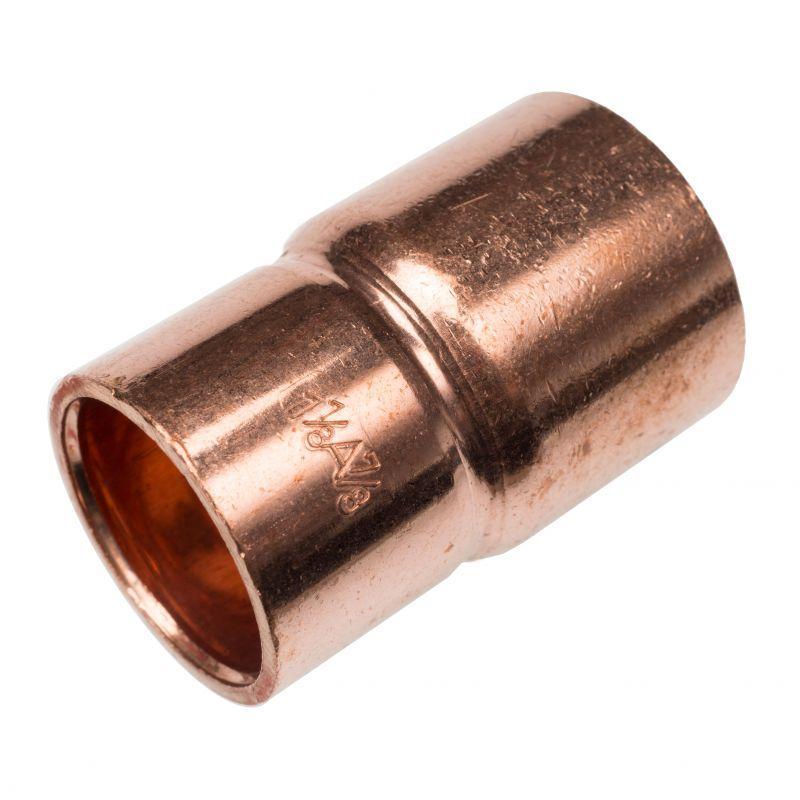 RefHP Absatznippel - Hochdruck-Lötfittings, Kupfer-Eisen