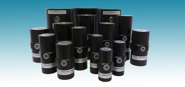 Piston Vibrators FP - Pneumatic piston vibrators for linear vibration with unlimited fine-tuning...