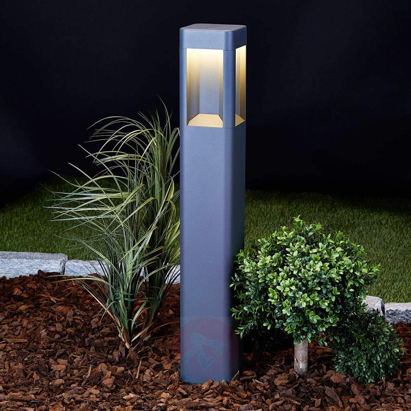 Annika Anthracite-coloured LED Path Lamp - outdoor-led-lights