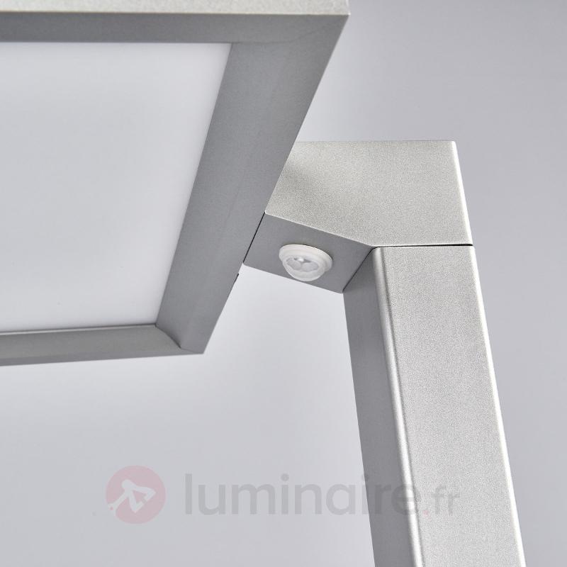 Lampadaire LED argenté pour bureau Dorean - Lampadaires directs et indirects