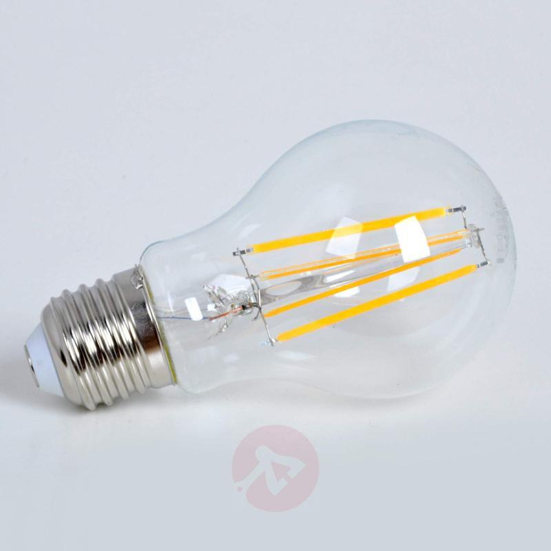 E27 6.8 W 827 filament LED lamp, dimmable - light-bulbs