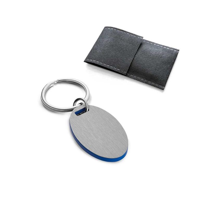 Porte-clés acier inox - Porte-clés métal