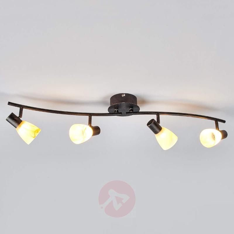 Elegant ceiling lamp Duena with OSRAM LEDs - Ceiling Lights